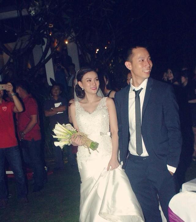 Thu Thủy trong ngày cưới cách đây 3 năm.
