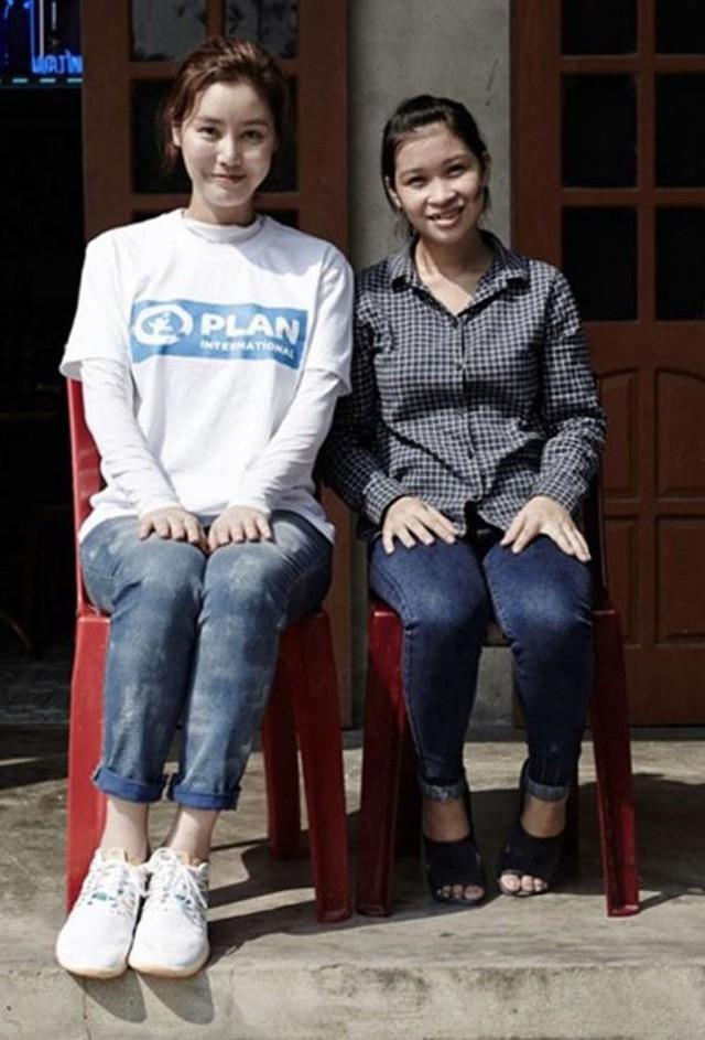 Thơm được nữ diễn viên Kim Sung Ryung nhận hỗ trợ tài chính, chăm sóc em trong cuộc sống sau này.