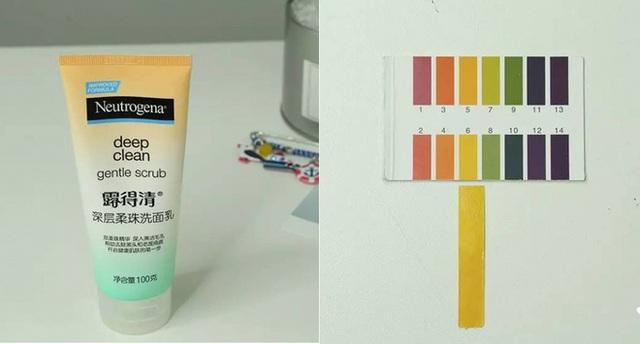 Neutrogena Deep Clean Gentle Scrub (250.000VNĐ/ 125ml) có độ pH 6, trong sản phẩm có chứa những hạt siêu mịn giúp làm sạch và tẩy da chết, làm thông thoáng lỗ chân lông, giảm thiểu tình trạng mụn đầu đen.