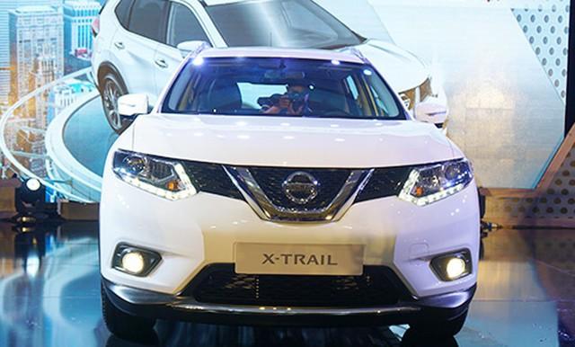 Mẫu xe đa dụng Nissan X-Trail được giảm giá từ 81-127 triệu đồng.