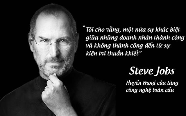 Huyền thoại của làng công nghệ toàn cầu Steve Jobs.