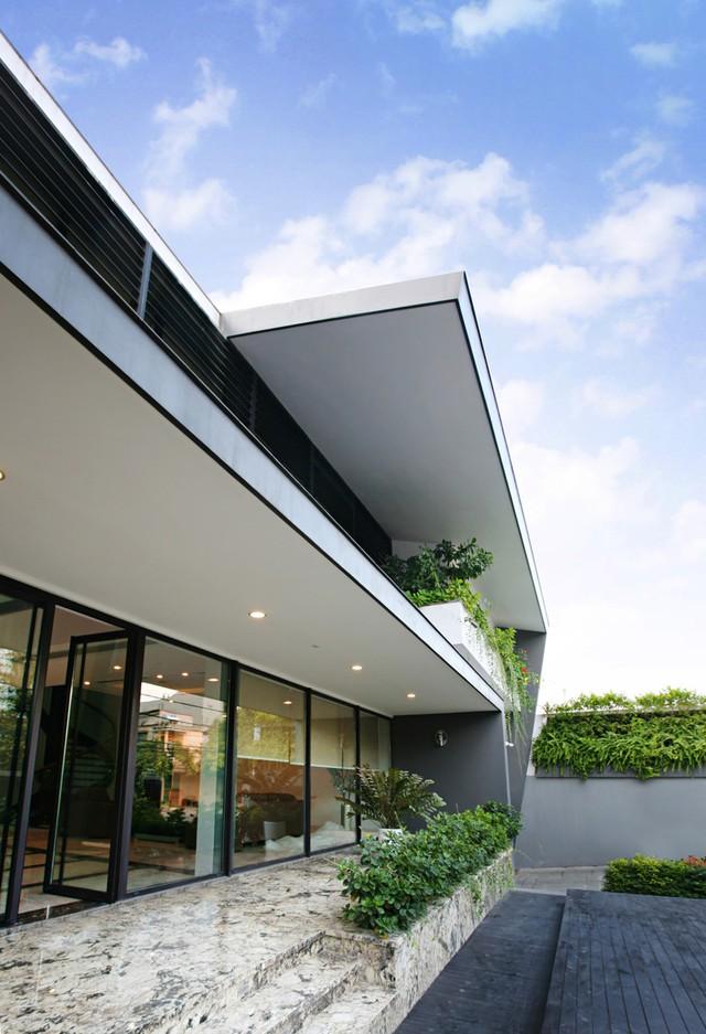 Nguyên tắc thiết kế tiếp theo mà KTS muốn đưa vào công trình là phải hài hòa với thiên nhiên.