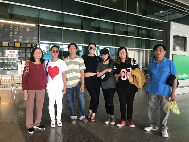 Ngọc Quyên không giấu được niềm vui vì đã rời khỏi showbiz Việt nhưng vẫn nhận được nhiều tình cảm của khán giả.
