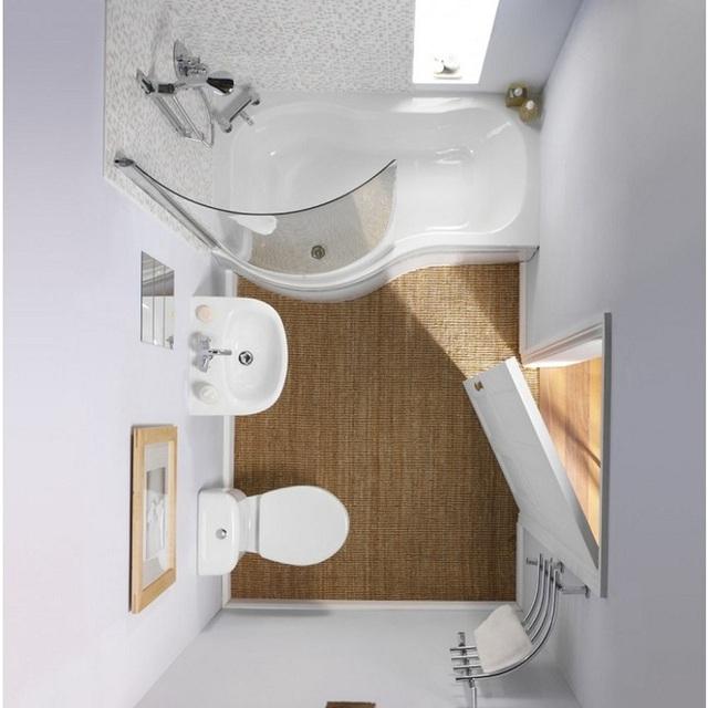 Góc phòng tắm này được chủ nhân tận dụng để gắn thêm 1 giá treo khăn mặt giúp tích kiệm được không gian.