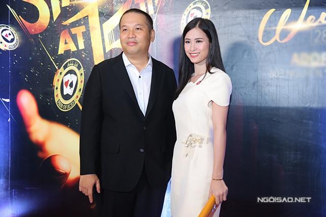Ca sĩ Đông Nhi từng tham gia nhiều chương trình do công ty của Quang Huy tổ chức.