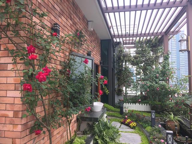 Chị Mộc Lan cho rằng, kích thước các chậu trồng hoa hồng thường không lớn, đường kính chỉ khoảng 80 cm, vậy nên việc bổ sung dinh dưỡng cho cây qua lá là cần thiết, nếu chỉ bón qua rễ, cây sẽ không đủ dinh dưỡng.