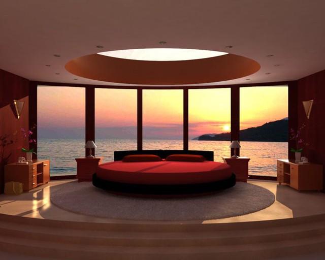Sáng thức giấc với ô cửa kính và mặt biển bất tận - chẳng ước mơ gì hơn nữa