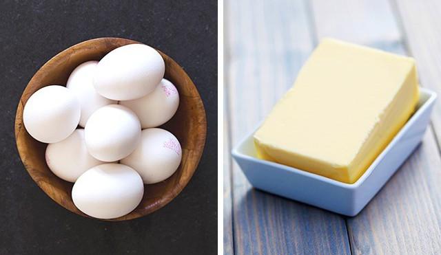 Nếu bạn muốn có môt lớp bột làm bánh hoàn hảo, hãy làm theo quy tắc đơn giản là lấy bơ và trứng ra khỏi tủ lạnh vào đêm trước để cho chúng đạt đến nhiệt độ phòng. Sau đó mới sử dụng để cho vào bột bánh, hiệu quả khiến bạn bất ngờ.