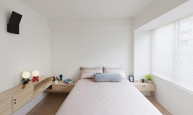 Phòng ngủ đẹp dịu dàng.