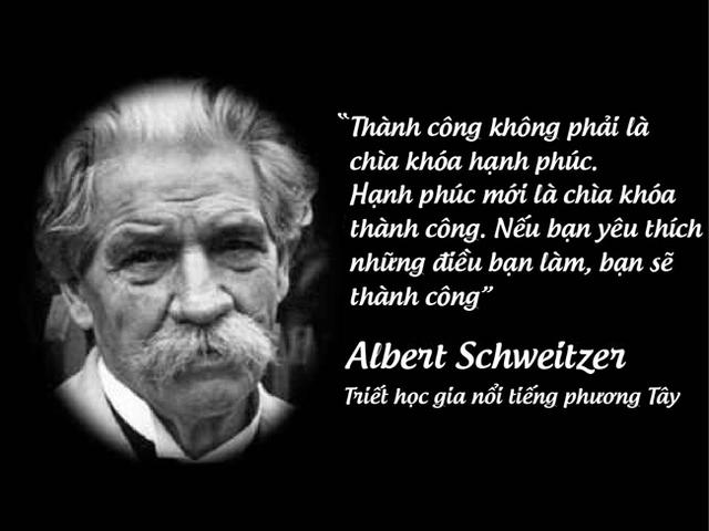 Triết học gia nổi tiếng phương Tây Albert Schweitzer