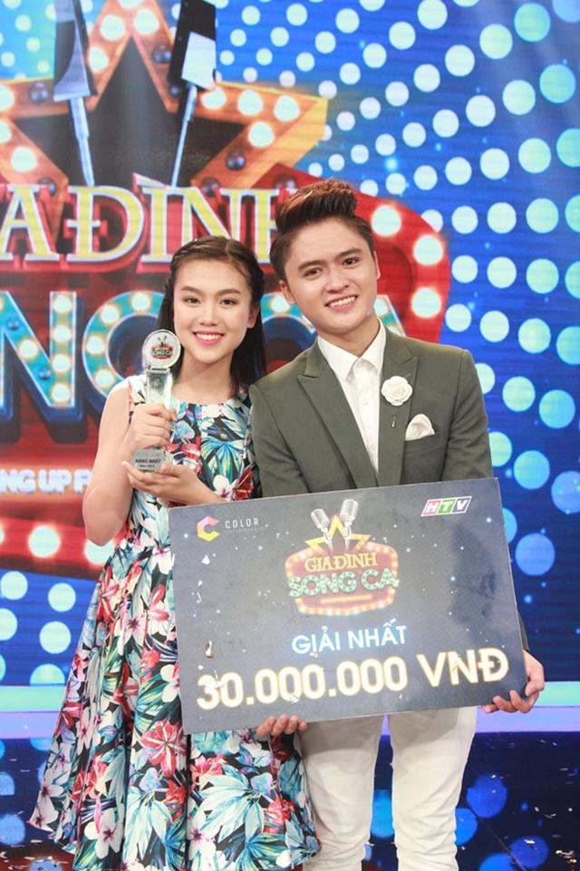 Anh em nhà Ngọc Sang nhận giải nhất tuần của Gia đình song ca