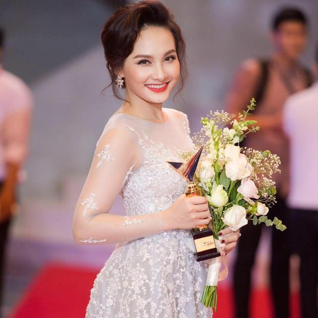 Nữ diễn viên Bảo Thanh trong một sự kiện.