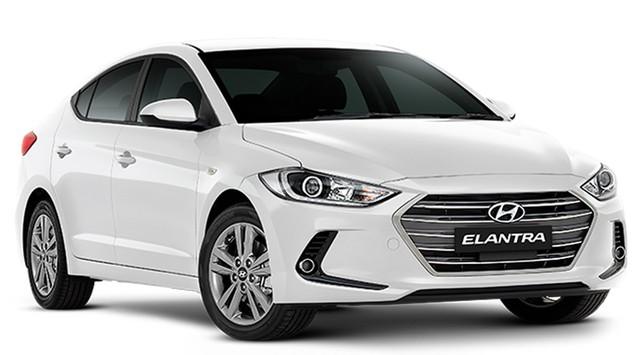 Hyundai Elantra được hưởng mức giá ưu đãi sớm của năm 2018 với mức giảm từ 66-80 triệu đồng.