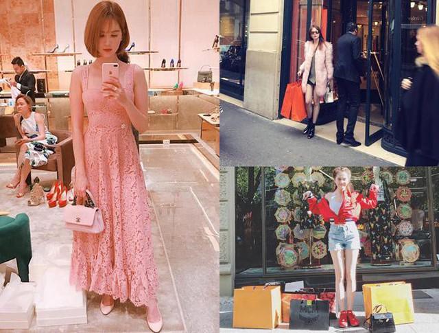 Nữ hoàng nội y cũng có đủ tài chính để thỏa mãn sở thích mua sắm quần áo hàng hiệu, túi xách có giá trị từ vài chục triệu lên đến hàng trăm triệu đồng.