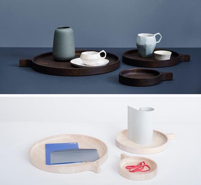 10. Bộ đĩa gỗ với kích thước lớn nhỏ khác nhau để bạn tùy ý sử dụng theo nhu cầu của gia đình.