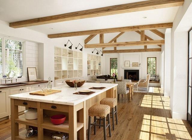 10. Kiến trúc sư còn nghĩ ra cách phối hợp chất liệu cói trong thiết kế này, mang lại nét tinh tế mới lạ cho các đồ nội thất và nhà bếp của mình.
