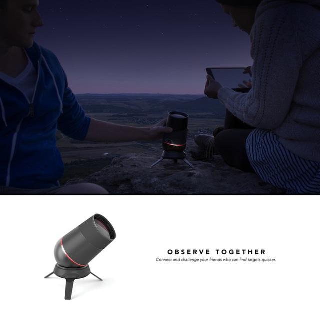 Mô tả công dụng của loại kính này, các nhà thiết kế cho biết nó được kết nối với một ứng dụng điện thoại thông minh, với ứng dụng này, người ta sẽ có thể biết được những đặc điểm của vùng trời trong phạm vi chiếc kính nhìn thấy được.