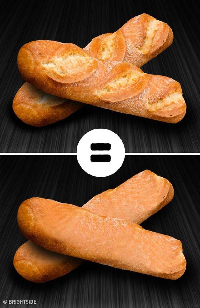 Giả thuyết thứ hai có vẻ thực tế hơn bởi vì có rất nhiều loại bánh mì không có vết cắt mà vẫn không bị nứt.