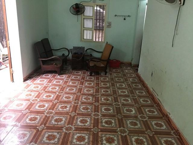 Khu vực phòng ăn của gia đình, nơi phát hiện chị T. và con gái tử vong.