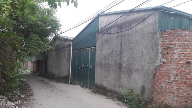 Công trình xây dựng trên đất nông nghiệp được mặc nhiên tồn tại ở phường Mai Dịch, quận Cầu Giấy, TP Hà Nội.