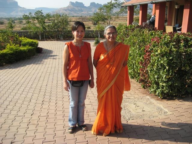 Chị Nguyễn Thanh Hương và những ngày tháng học tập yoga tại Ấn Độ