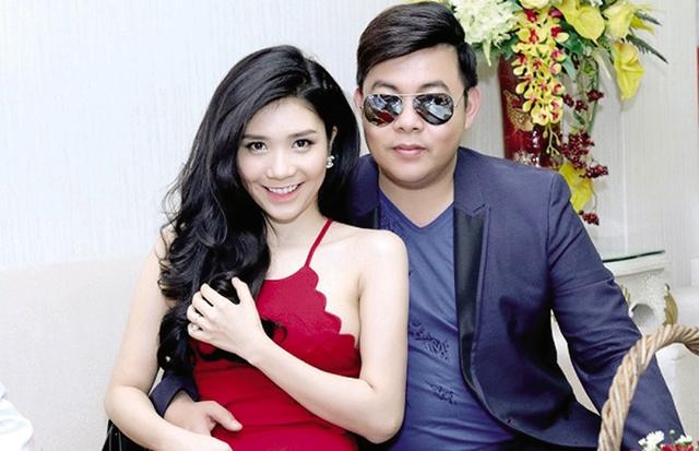 Cặp đôi Quang Lê – Thanh Bi thuở còn mặn nồng. Ảnh: TL