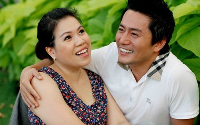 Trương Minh Cường và vợ