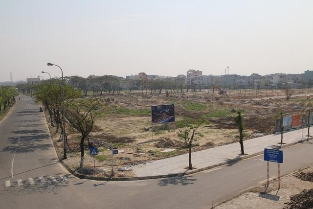 Hiện dự án Elysia Complex City đã hoàn thiện cơ sở hạ tầng. Ảnh: Đức Hoàng