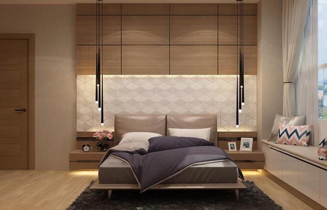 Phòng ngủ thiết kế cầu kỳ