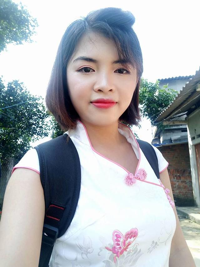 Cô giáo Yến với những dòng kêu gọi ủng hộ sách cho học sinh vùng lũ Thái Nguyên.