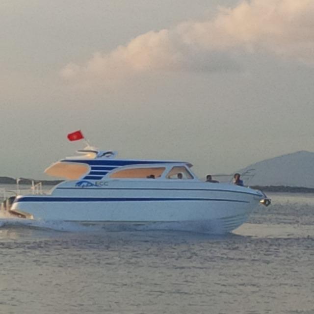 Một chiếc tàu được đóng bằng công nghệ PPC. (ảnh: HC)