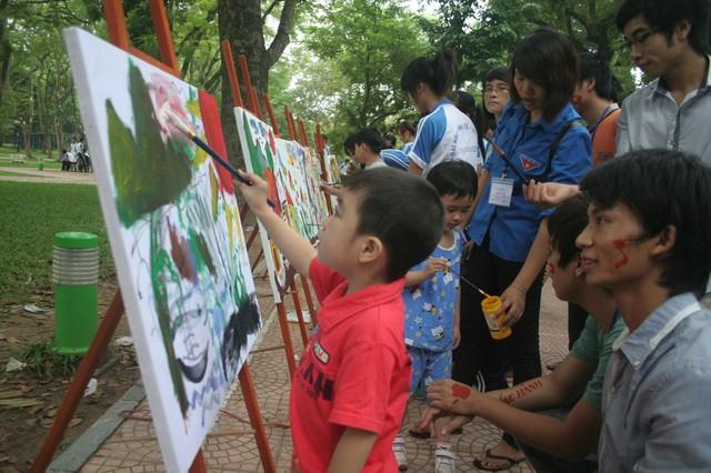 Hãy để những cuộc thi là niềm vui cho trẻ. (Ảnh minh họa không liên quan đến bài viết).     Ảnh: Q.Anh