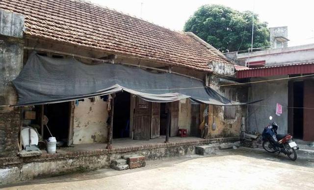 Căn nhà ông Dương Văn Bi, nơi xảy ra sự việc. Ảnh: Đ.Tuỳ