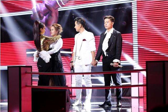 Thu Minh chúc mừng Hồng Ngọc và khẳng định thí sinh đã ở lại trong lòng khán giả