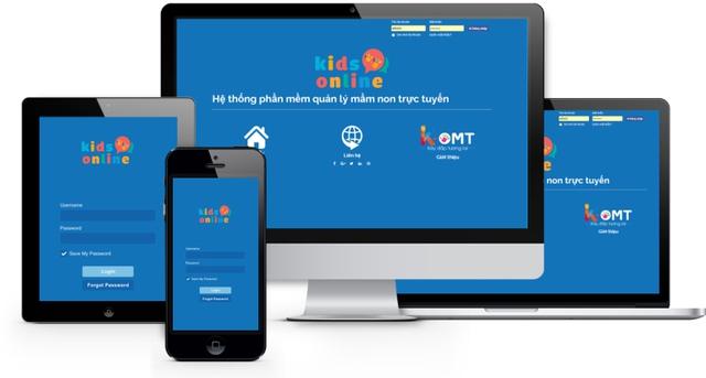 KidsOnline có thể hoạt động cả máy tính và smartphone.