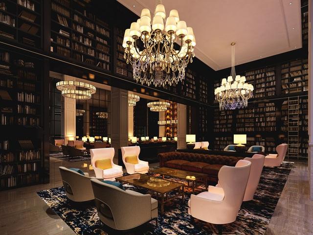 Cigar Bar hiện đại và đẳng cấp của FLC Grand Hotel Sầm Sơn. (ảnh: DanKo Group)