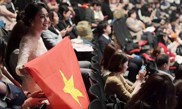 Á hậu Thanh Tú đang háo hức sang Trung Quốc cổ vũ U23 Việt Nam.