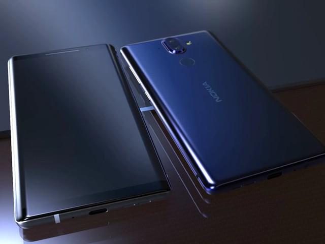 Nokia 9 được kỳ vọng sẽ trang bị màn hình OLED. YouTube.