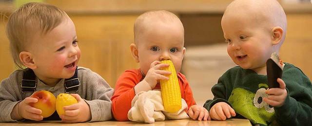 30% trẻ đến độ tuổi ăn dặm và đi nhà trẻ gặp tình trạng biếng ăn