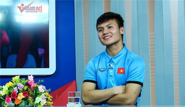 Gương mặt điển trai của cẩu thủ mang số áo 19 của tuyển U23 Việt Nam.