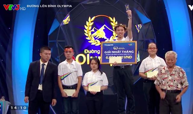 Nguyễn Hoàng Minh giành vòng nguyệt quế của cuộc thi Tháng 1 Quý 1