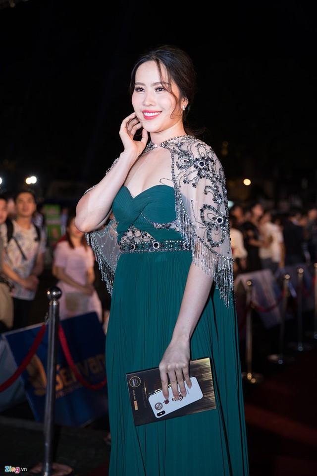 Nam Em trên thảm đỏ chung kết Hoa hậu Việt Nam 2018 vừa qua. Ảnh: Nguyễn Thành.