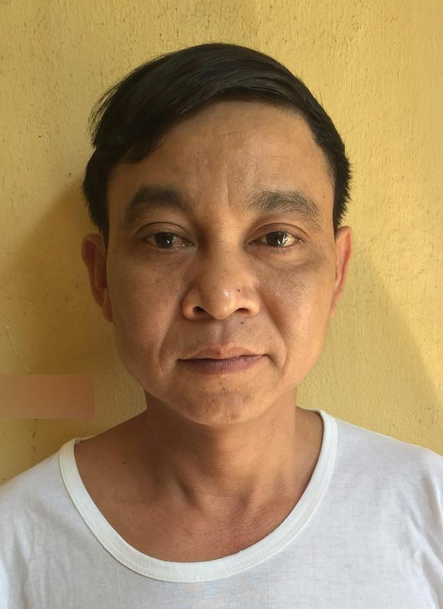 Đối tượng Thanh bị Cơ quan CSĐT Công an huyện Tiên Lãng bắt tạm giam và khởi tố tội danh giao cấu với trẻ em. Ảnh: Cơ quan Công an cung cấp