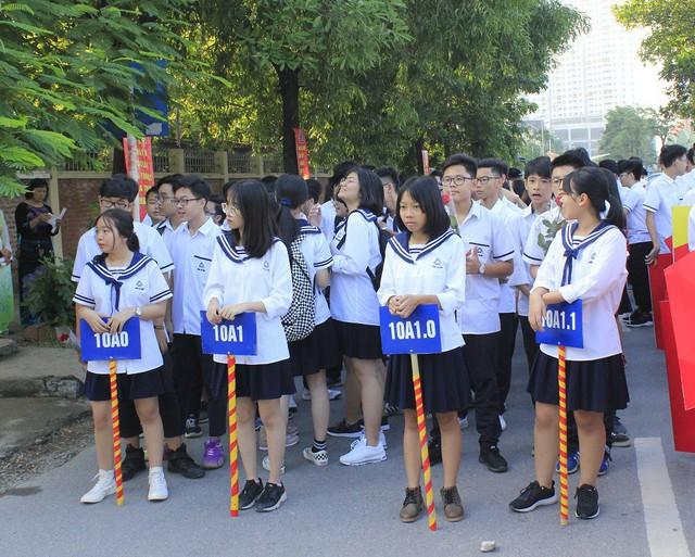 Kỳ tuyển sinh lớp 10 THPT năm học 2019 – 2020 tại Hà Nội chỉ có 60 - 62% chỉ tiêu vào trường THPT công lập. Ảnh minh họa: Q.A