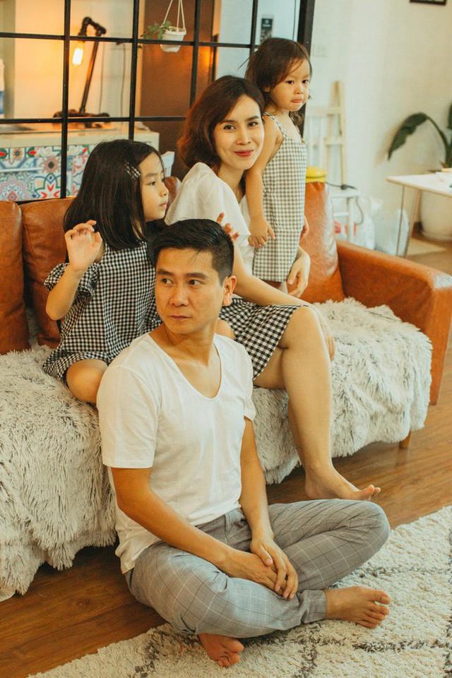Những khoảnh khắc hạnh phúc của gia đình Hồ Hoài Anh.