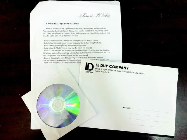 """Toàn bộ sản phẩm phần mềm theo dõi ngoại tình được bán bởi """"Lê Duy Company"""". Ảnh: D.Trường"""