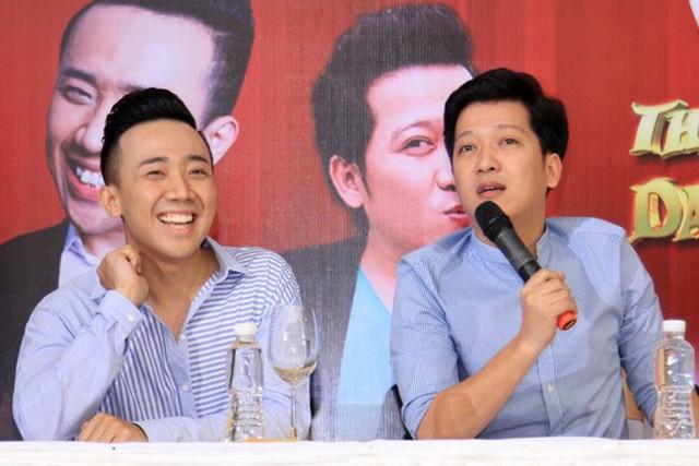 Trấn Thành - Trường Giang: bộ đôi MC - diễn viên hài hợp nhau từ sân khấu đến cuộc sống hôn nhân.