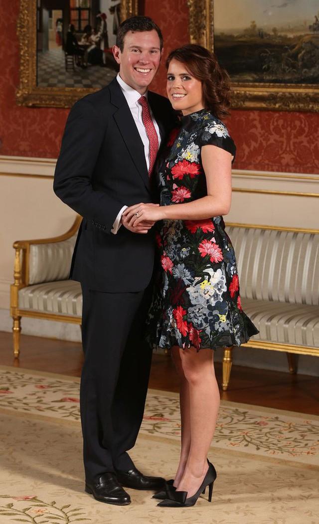 Công chúa Eugenie và vị hôn phu.