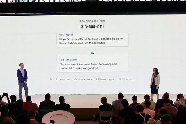 Call Screen được Google công bố tại sự kiện ra mắt điện thoại Pixel mới đây.