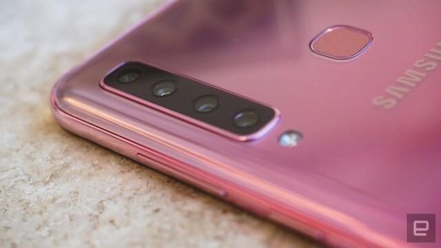 Cận cảnh cụm 4 camera trên smartphone